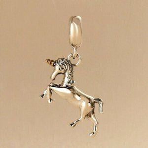 Authentic Pandora Unicorn Horn Dangle Charm